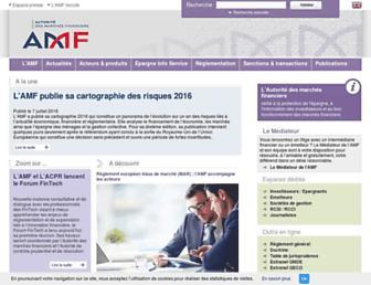 amf-france.org screenshot