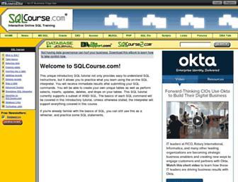 Thumbshot of Sqlcourse.com