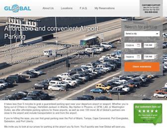 Thumbshot of Globalairportparking.com