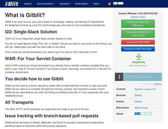 gitblit.com screenshot