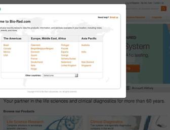 bio-rad.com screenshot