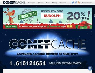 cometcache.com screenshot