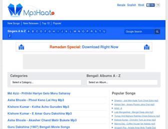 mp3haat.com screenshot