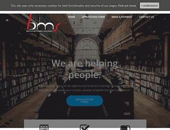 benchmarkmediasolutions.co.uk screenshot