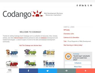 Screenshot for codango.com