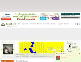 didactic.ro screenshot