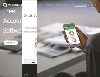 akaunting.com screenshot