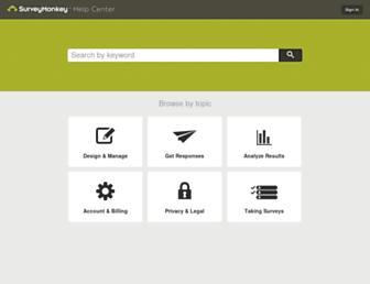 help.surveymonkey.com screenshot