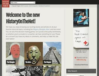 Thumbshot of Historyonthenet.com