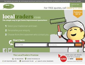 Screenshot for localtraders.com