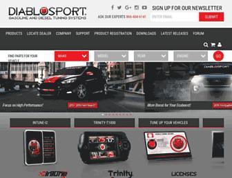diablosport.com screenshot