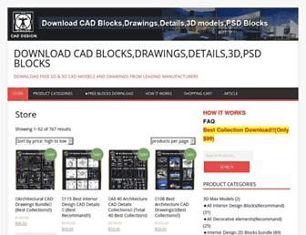 caddownloadweb.com screenshot