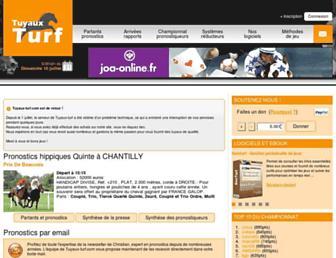 tuyaux-turf.com screenshot