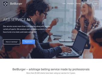 betburger.com screenshot