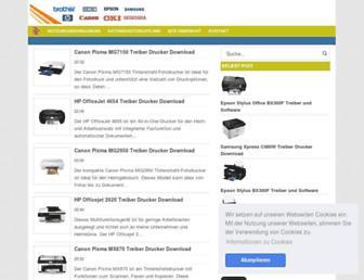 softwaretreiber.com screenshot