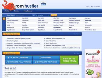 ftp.romhustler.net screenshot