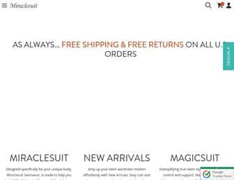 miraclesuit.com screenshot