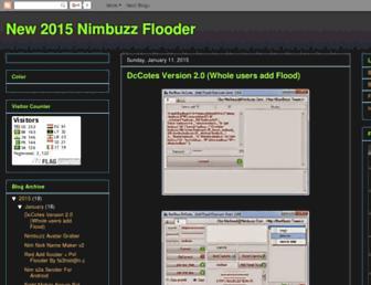 nimbuzz-flooder.blogspot.com screenshot