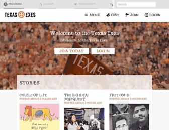 texasexes.org screenshot