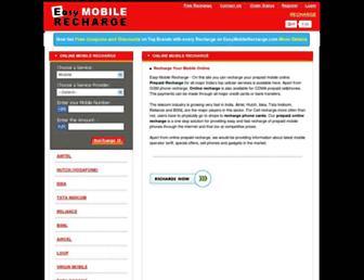 Thumbshot of Easymobilerecharge.com