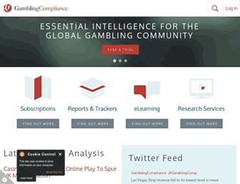 gamblingcompliance.com screenshot
