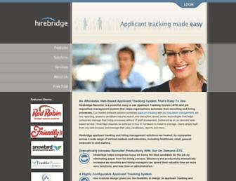 Thumbshot of Hirebridge.com