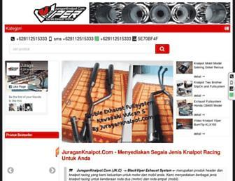 juraganknalpot.com screenshot