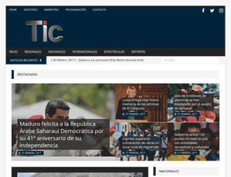 tictv.com.ve screenshot