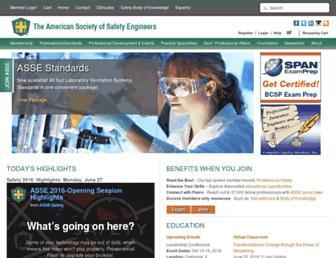 asse.org screenshot
