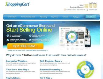 Thumbshot of 1shoppingcart.com