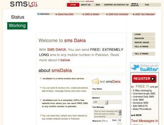smsdakia.com screenshot