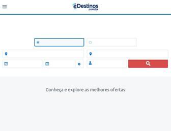 edestinos.com.br screenshot