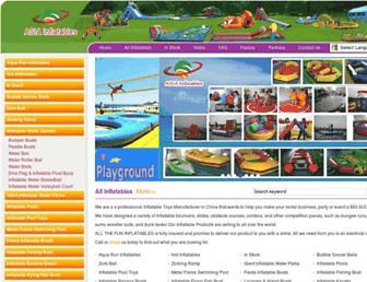 Thumbshot of Asia-inflatables.com.cn