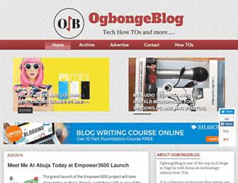 ogbongeblog.com screenshot
