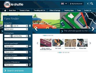Thumbshot of Eurotunnel.com