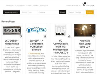 electrosome.com screenshot
