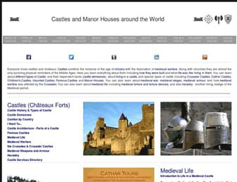 castlesandmanorhouses.com screenshot