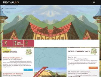 ragnarevival.com screenshot