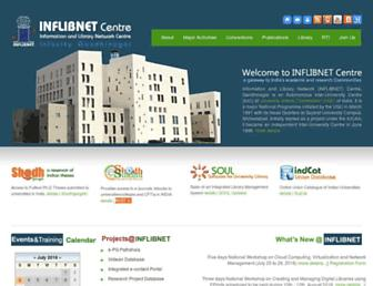 Thumbshot of Inflibnet.ac.in