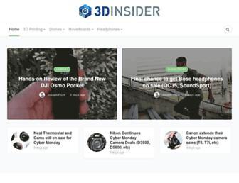 3dinsider.com screenshot