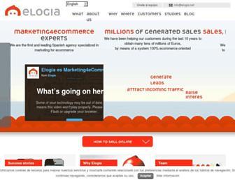 elogia.net screenshot