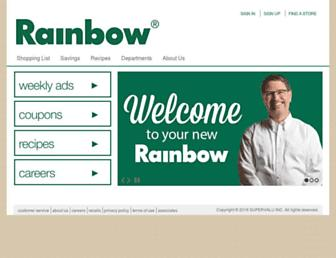 rainbowfoods.com screenshot