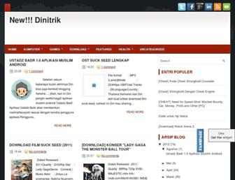 dinitrik21.blogspot.com screenshot