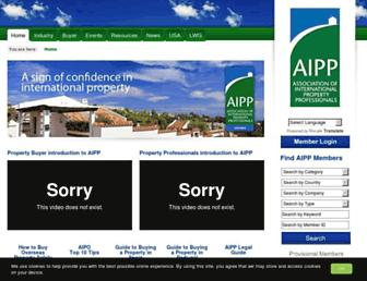 Thumbshot of Aipp.org.uk
