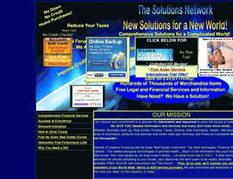 Thumbshot of Allsolutionsnetwork.com
