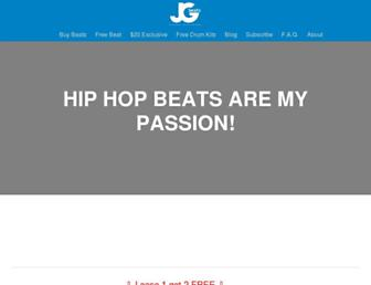 jgbeats.com screenshot
