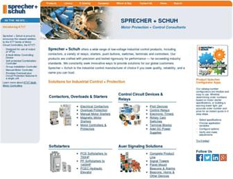 sprecherschuh.com screenshot