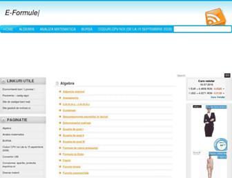 e-formule.ro screenshot