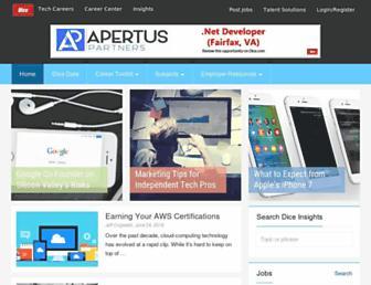 news.dice.com screenshot
