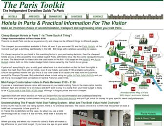 paristoolkit.com screenshot